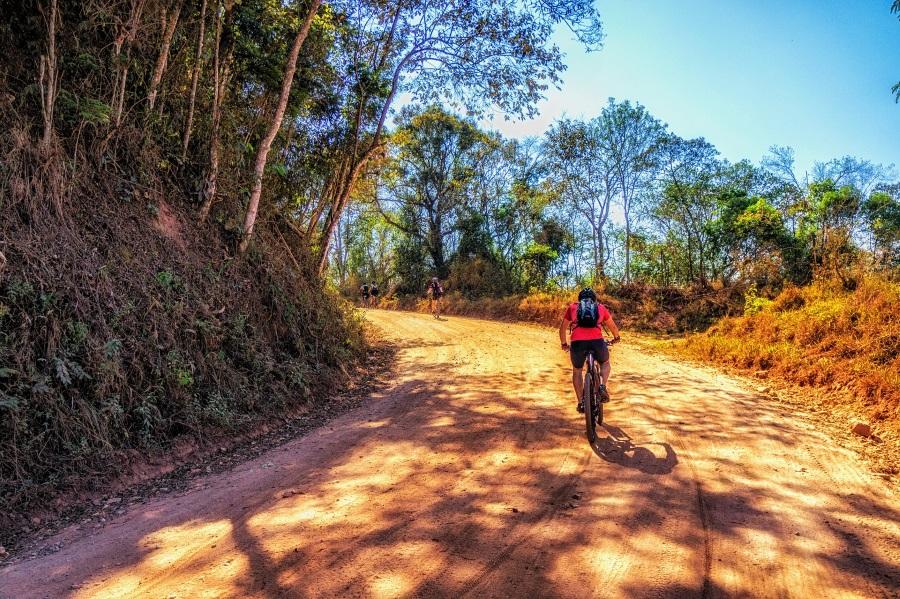 ποδηλασία στη φύση