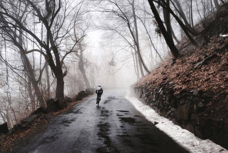 χειμερινό ποδήλατο