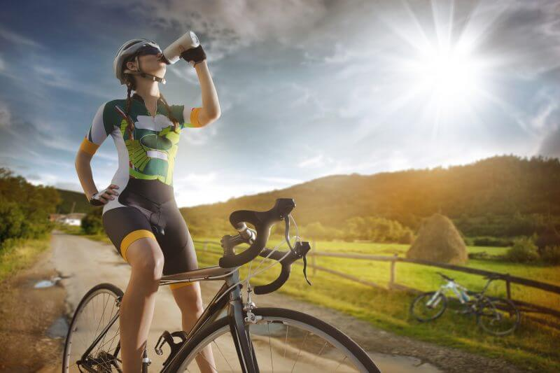 ενυδάτωση ποδηλασία