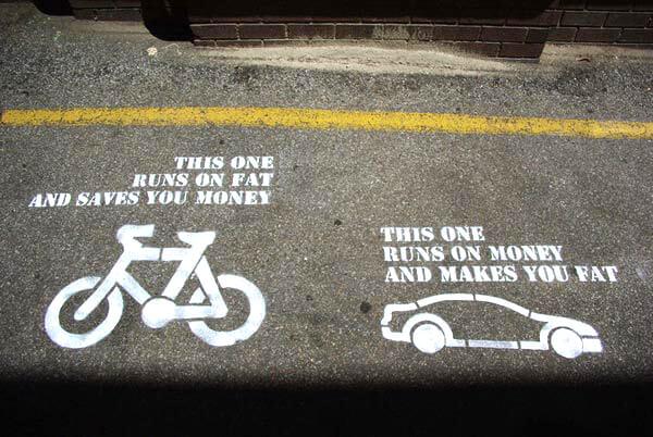 ποδηλατο αυτοκινητο